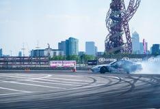 GP britannico rotondo della deriva 1-London Fotografie Stock