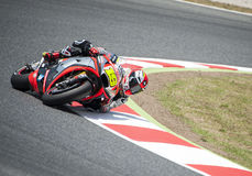 GP CATALUNYA MOTO GP 2015 -  ALVARO BAUTISTA Royalty Free Stock Photo