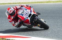 GP CATALUNYA MOTO GP 2015 -  ANDREA DOVIZIOSO Royalty Free Stock Photo