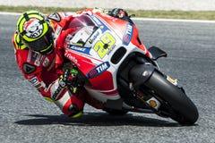 GP CATALUNYA MOTO GP 2015 -  ANDREA IANNONE Royalty Free Stock Photo