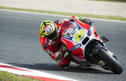 GP CATALUNYA MOTO GP 2015 -  ANDREA IANNONE Stock Photo