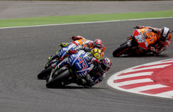 GP CATALUNYA MOTO GP Stock Photography
