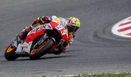 GP CATALUNYA MOTO GP. That celebrates on days 13-15 June 2014 at Circuit de Barcelona-Catalunya Royalty Free Stock Image