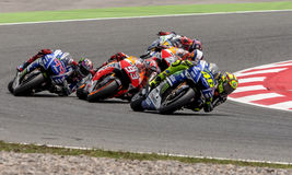 GP CATALUNYA MOTO GP. That celebrates on days 13-15 June 2014 at Circuit de Barcelona-Catalunya Stock Photography