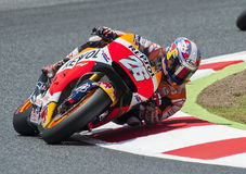 GP CATALUNYA MOTO GP 2015 - DANI PEDROSA Royalty-vrije Stock Foto's