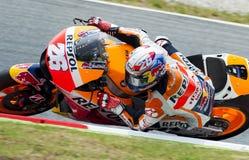 GP CATALUNYA MOTO GP 2015年- DANI PEDROSA 库存图片