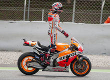 GP CATALUNYA MOTO GP - MARC MARQUEZ Royalty Free Stock Photography