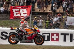 GP CATALUNYA MOTO GP - MARC MARQUEZ Stock Photos