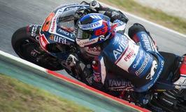 GP CATALUNYA MOTO GP 2015 -  MIKE DE MEGLIO Royalty Free Stock Photos