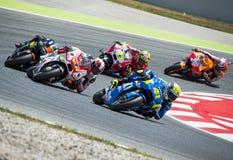 GP CATALUNYA MOTO GP 2015 Royalty Free Stock Images