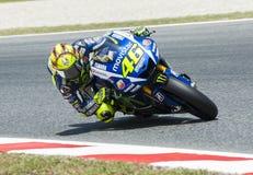 GP CATALUNYA MOTO GP 2015 -  VALENTINO ROSSI Stock Image