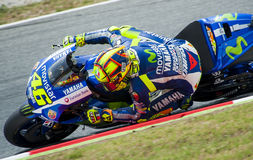 GP CATALUNYA MOTO GP 2015 -  VALENTINO ROSSI Stock Photos
