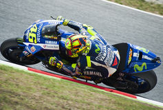 GP CATALUNYA MOTO GP 2015 -  VALENTINO ROSSI Stock Photography