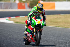 GP CATALUNYA MOTOGP. ALEIX ESPARGARO. APRILIA RACING TEAM. Royalty Free Stock Image