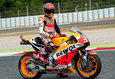 GP CATALUNYA MOTOGP - MARC MARQUEZ Royalty Free Stock Image