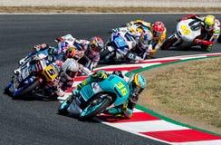 GP CATALUNYA MOTOGP. MOTO 3 RACE Royalty Free Stock Photography