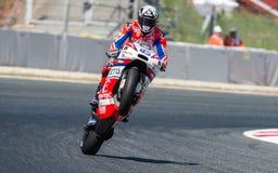 GP CATALUNYA MOTOGP Scott Redding LAG OCTO PRAMAC RACING Royaltyfri Bild