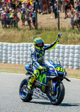 GP CATALUNYA MOTOGP - VALENTINO ROSSI Royalty Free Stock Photography