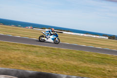 GP de Moto Imagem de Stock