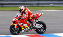 GP de Moto, Marco Melanri Imagens de Stock