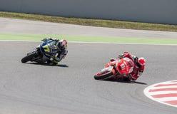 GP DEL GP CATALUNYA MOTO Fotografia Stock