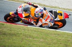 GP 2015 DEL GP CATALUNYA MOTO - DANI PEDROSA Foto de archivo libre de regalías