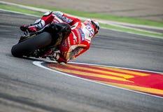GP DEL GP L'ARAGONA MOTO Andrea Dovizioso Fotografia Stock