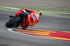 GP DEL GP L'ARAGONA MOTO Andrea Iannone Fotografie Stock