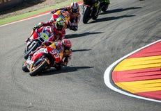 GP DEL GP L'ARAGONA MOTO Marc Marquez Fotografia Stock