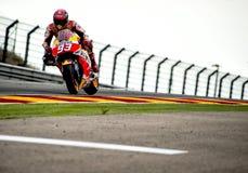 GP DEL GP L'ARAGONA MOTO Marc Marquez Fotografie Stock