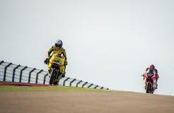 GP DEL GP L'ARAGONA MOTO MOTO 2 RIDER ALEX RINS Fotografia Stock Libera da Diritti