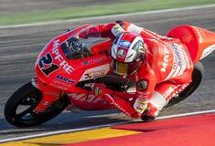 GP DEL GP L'ARAGONA MOTO MOTO 3 RIDER FRANCESCO BAGNAIA Immagine Stock