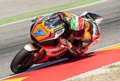 GP DEL GP L'ARAGONA MOTO MOTO 2 RIDER LORENZO BALDASSARRI Immagine Stock