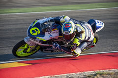 GP DEL GP L'ARAGONA MOTO MOTO 3 RIDER MARIA HERRERA Immagine Stock