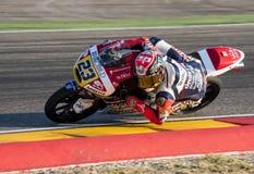 GP DEL GP L'ARAGONA MOTO MOTO 3 RIDER NICCOLO ANTONELLI Fotografia Stock