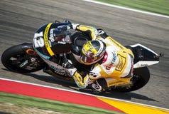 GP DEL GP L'ARAGONA MOTO MOTO 2 RIDER THOMAS LUTHI Immagine Stock