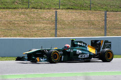 GP di Montmelo F1 Fotografia Stock Libera da Diritti