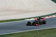 GP di Montmelo F1 Fotografie Stock Libere da Diritti