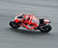 GP di Nicky Hayden-Moto Immagine Stock Libera da Diritti