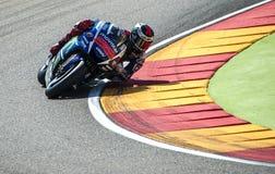 GP DO GP ARAGON MOTO Jorge Lorenzo Imagem de Stock