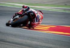 GP DO GP ARAGON MOTO Marc Marquez Fotografia de Stock Royalty Free