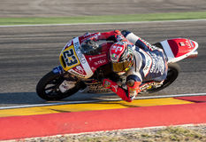 GP DO GP ARAGON MOTO MOTO 3 RIDER NICCOLO ANTONELLI Foto de Stock