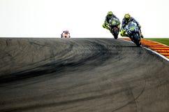 GP DO GP ARAGON MOTO Valentino Rossi Imagens de Stock
