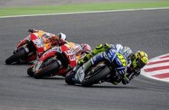 GP DO GP CATALUNYA MOTO Fotos de Stock Royalty Free