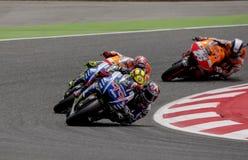 GP DO GP CATALUNYA MOTO Fotografia de Stock