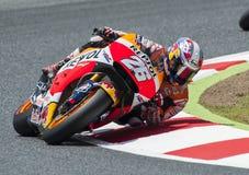 GP 2015 DO GP CATALUNYA MOTO - DANI PEDROSA Fotos de Stock Royalty Free