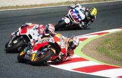 GP 2015 DO GP CATALUNYA MOTO - DANI PEDROSA Foto de Stock Royalty Free