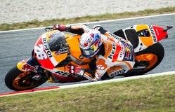 GP 2015 DO GP CATALUNYA MOTO - DANI PEDROSA Fotografia de Stock