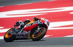 GP 2015 DO GP CATALUNYA MOTO - DANI PEDROSA Imagens de Stock Royalty Free