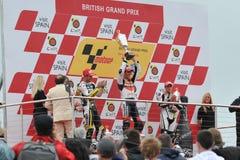 GP Donington 2009 di Moto Fotografia Stock Libera da Diritti